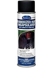 Eastwood Black Rubberized Rust Encapsulator 15 oz Aerosol Prevents Rust Corrosion Epoxy Fortified Low VOC Formula