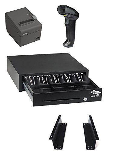 POS Hardware Bundle for Square Stand- Cash Drawer, Mounting