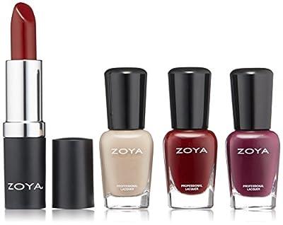 ZOYA Nail Polish, Rosy Cheeks Lips & Tips Quad, 1 fl. oz. from ZOYA