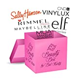 BEL FORTIS Mystery Beauty Box Luxury Assortment of Cosmetics and Makeup for Women – Ultimate Surprise Box Filled with 10+ Name Brand Products