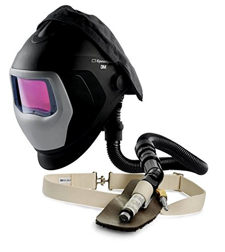 3M Speedglas Welding Helmet 9100 Air w/Welding Filter kit 9100XXi, FA III Supplied Air System and V-100 Cooling Valve