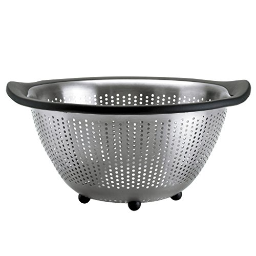 OXO Good Grips 5-Quart Stainless-Steel Colander image