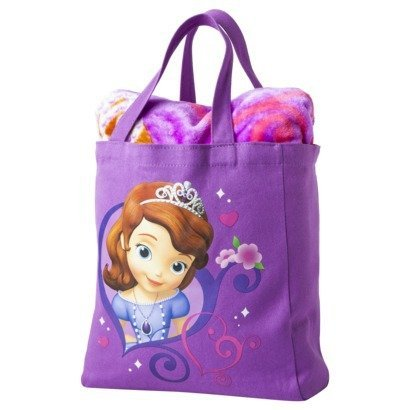 Disney Princess Sofia The First Throw Blanket And Canvas Tote Set Interesting Sofia The First Throw Blanket