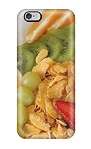 Hot New Strawberry Banana Grapes Berries Case Cover For Iphone 6 Plus With Perfect Design