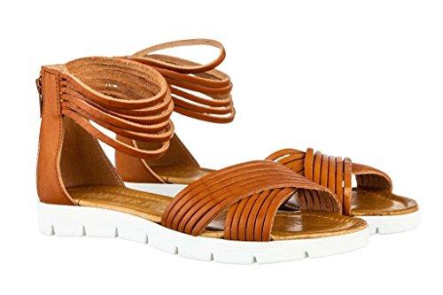 Sandali donna in pelle per l'estate scarpe RIPA shoes made in Italy - 09-08009