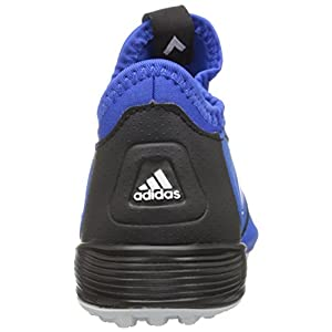 adidas Performance Kids' Ace Tango J Indoor Soccer Cleat, Blue/Blue/Black, 11.5 M US Little Kid