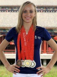 Nastia Liukin 8X10 Photo - 2008 Olympic Gymnast #36