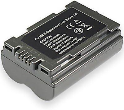 1700mah BATERIA para Panasonic cgr-s602se cgr-s603a//1b dmw-bl14