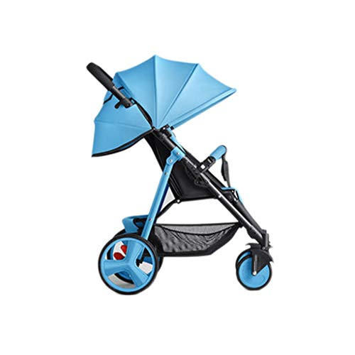 TMY Comfortable Pushchair Easy Newborn Children Can Sit Lying Pushchairs Shock Absorbers One-Click Folding Pushchairs Prams Portable Strollers Buggies Baby Strollers