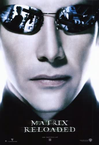 movie posters the matrix reloaded