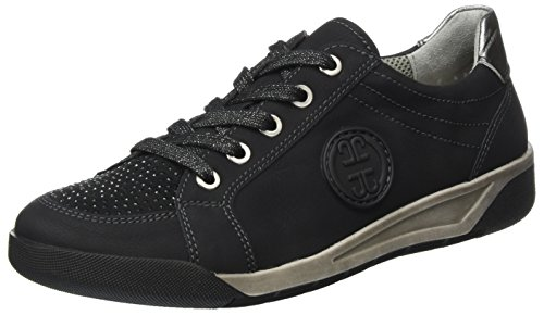 Sneakers Jenny Ladies Seattle Nere (nero, Pistola)