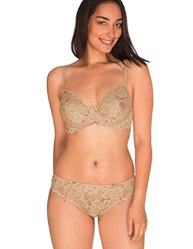 Donna Sans Reggiseno Skin 70564 con Arum Complexe Ferretto 7YSgqwrYt