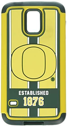 NCAA Oregon Ducks Dual Hybrid TPU Galaxy S5 Rugged Case ()