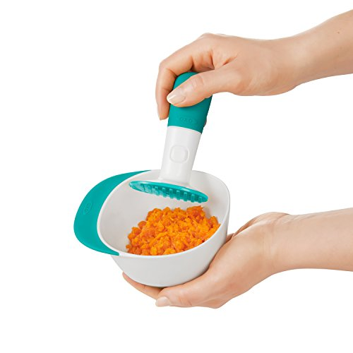 41cdnTuRDDL - OXO Tot Food Masher, Teal