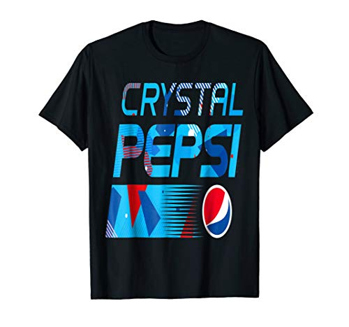 (Crystal Pepsi Cola Vintage Brands Soft Drinks T Shirt)
