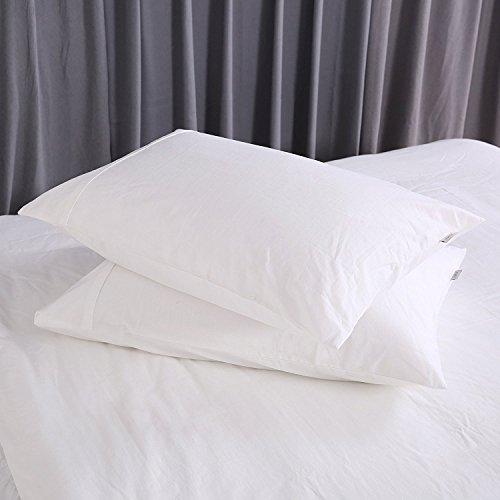 HOMFY Queen 100 Cotton Pillows Bed Pillows
