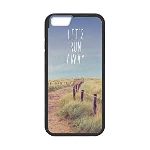 "Lets Run Away New Printed Case for Iphone6 4.7"", Unique Design Lets Run Away Case"