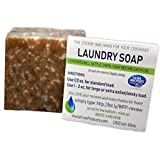 Organic Refillable Laundry Soap Detergent - Safe for the Family, Great for Sensitive Skin-Phosphate-Free / Non Toxic / Eco-Friendly - Laundry Washing Detergent - Concentrate Paste to Liquid