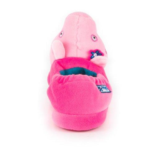 Peppa Pig - Zapatillas de estar por casa de sintético para niña rosa - rosa