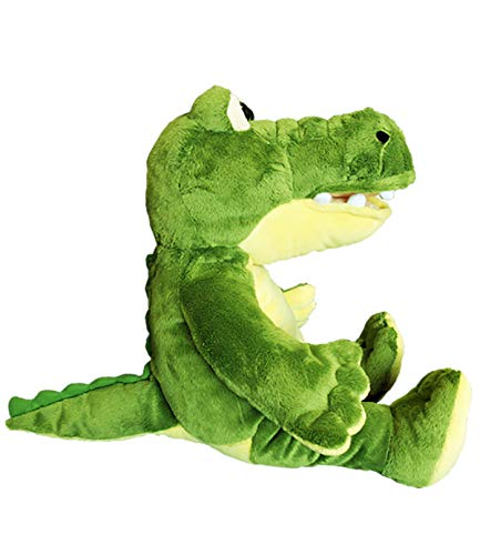 (Cuddly Soft 16 inch Stuffed Yellow & Green Gator - We stuff 'em...you love)