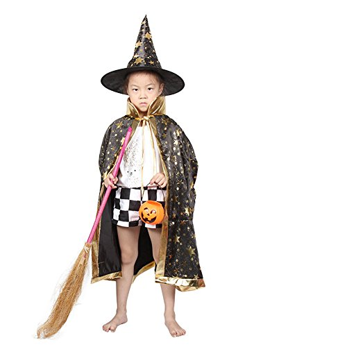Halloween Children Cloak Costumes Role Prop Play (Tween Hooded Huntress Costume)