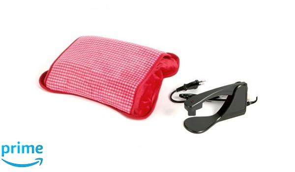 Sfluffolo New rojo bolsa agua caliente eléctrica con ...