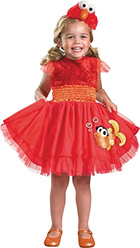 Frilly Elmo Costume - Baby 12-18 -