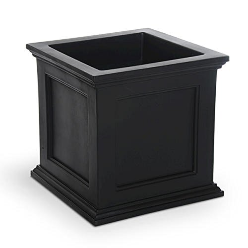 Mayne Fairfield Patio Planter with Recessed Panel Design - Wheather Proof Self Watering Pot- 20