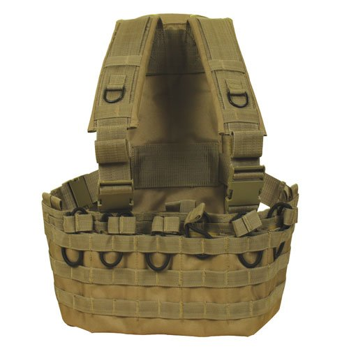 (Fox Outdoor Products Commando Chest Rig, Coyote)