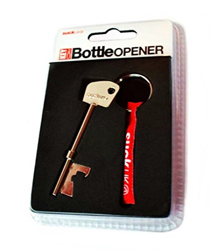 Suck UK Metal Key Design Bottle Opener Keychain Suck Uk Key