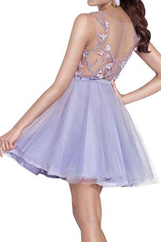 Ballkleider Mini Promkleider Brau Abschlussballkleider Abendkleider Abschlussballkleider Blau Pailletten Cocktailkleider mia La 0txOY5