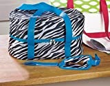 zebra slow cooker - Zebra Sturdy Slow Cooker Carrier Tote Fits up to 6 Quarts 15