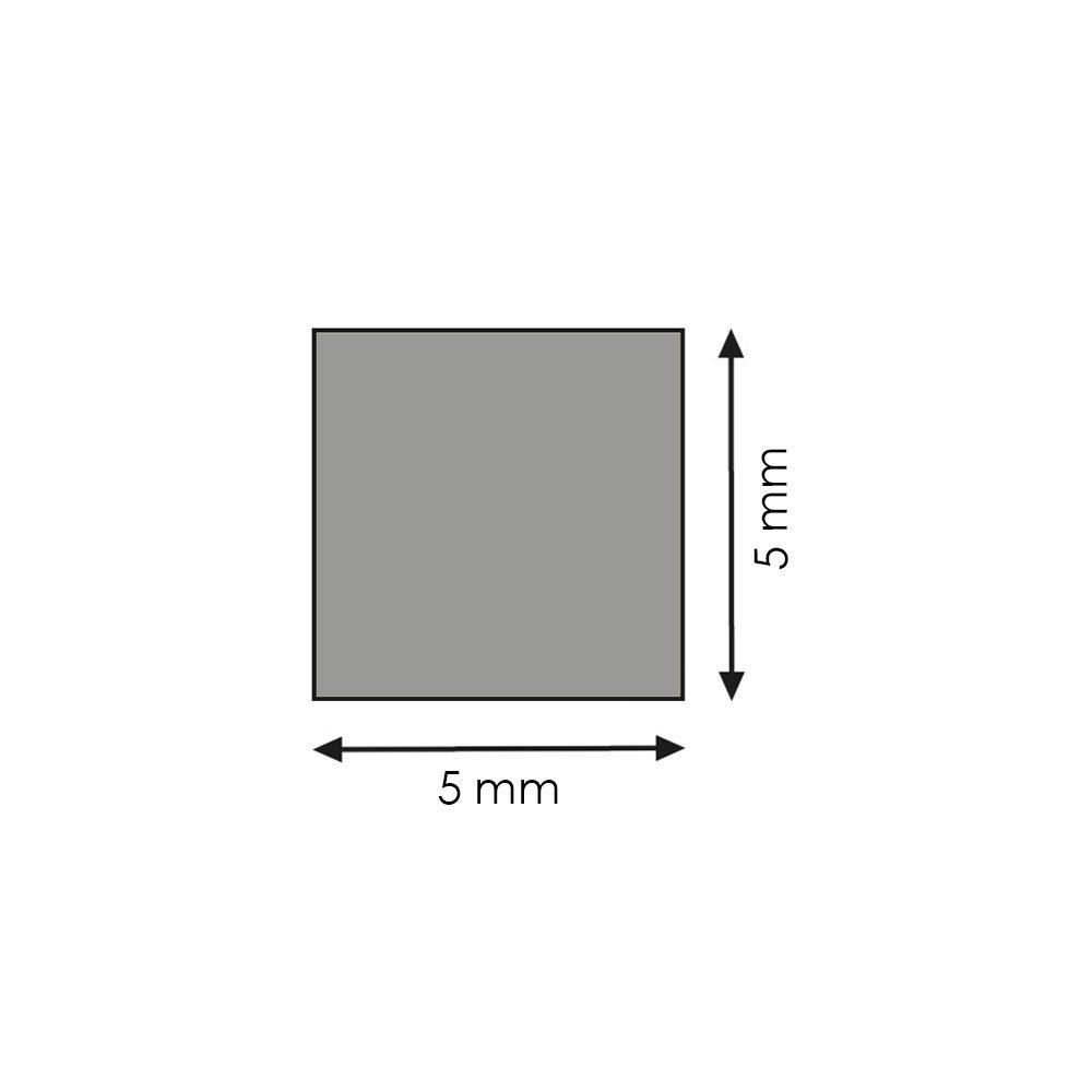 Quadratleiste Bastelleiste Abschlussleiste Abdeckleiste aus unbehandeltem Kiefer-Massivholz 900 x 5 x 5 mm