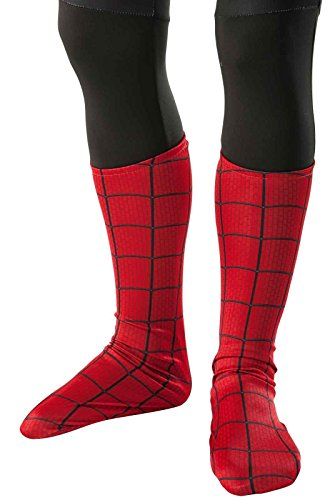 All Spiderman Costumes In Amazing Spider Man (Rubie's The Amazing Spider-man 2 Costume Boot-Tops, Child Size)