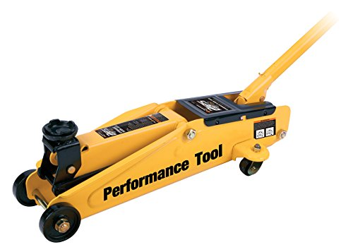 Performance Tool W1611 2.25 Ton (4,500 lbs.) Capacity Trolley Jack with Case by Performance Tool (Image #1)