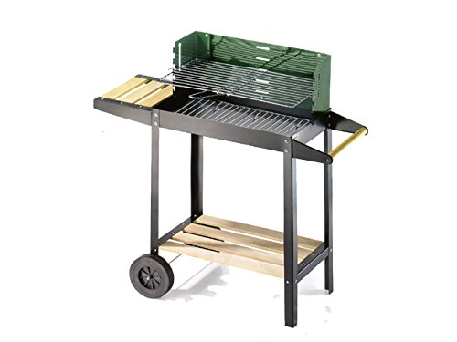 Ompagrill Barbecue 50-25 Green/W cm. 50x25 - h. cm. 77
