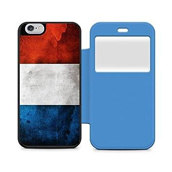 3d1fd8cc31d Carcasa - Funda Azul ventana iPhone 6 Plus bandera de Francia: Amazon.es:  Electrónica