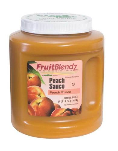 Fruit Carbotrol Peach Sauce 6 Case 68 Ounce by Leahy IFP (Image #2)