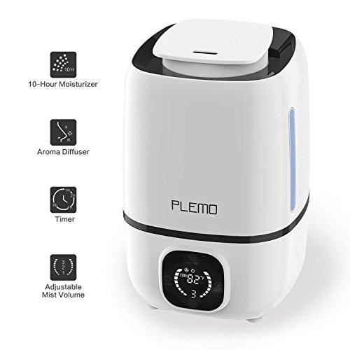 Ultrasonic Cool Mist Humidifiers, PLEMO Single
