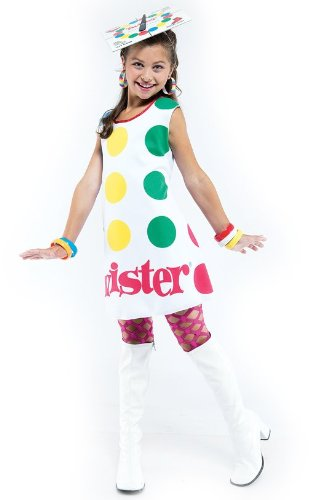 Girls Twister Game Costume - Child Small - Twister Girl Halloween Costume