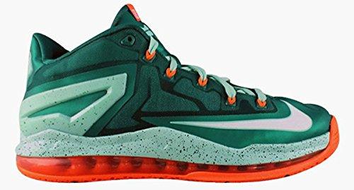 Nike Air Max Lebron Xi 11 Uomini Bassi Scarpe Da Basket Nuovo Mystc Grn / Wht-mdm Menta-iper C