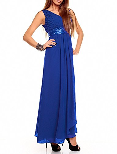 linea Blu vestiti da una reale partito promenade di HotGirls Satin dell'abito Semplice agAwZ