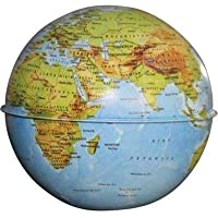 Gürbüz Yayınları 41103 Globe Bank Fiziki Küre 10 Cm