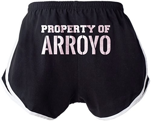 Womens Arroyo Short (Property of ARROYO Booty Shorts Beach Gym Ladies Womens Sexy & Funny Small e5)