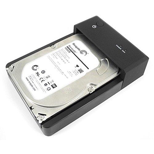 Asunflower® 2.5 3.5 INCH SATA Serial ATA USB 3.0 HUB Horizontal HDD External Docking Station