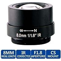 8mm 1/1.8 f1.8 CS-mount Fixed Iris 51