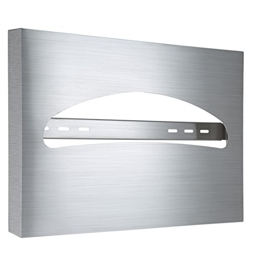 Alpine Industries Toilet Seat Cover Dispenser, Stainless Steel Brushed ()