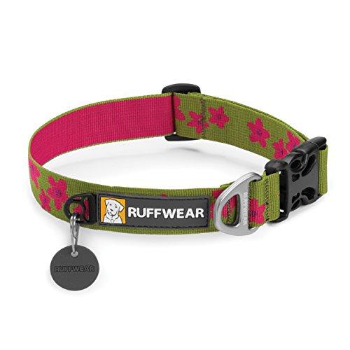 RUFFWEAR - Hoopie Soft, Durable Dog Collar, Wildflower, Large