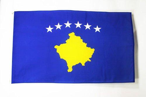 KOSOVO FLAG 3' x 5' - KOSOVAR FLAGS 90 x 150 cm - BANNER 3x5 ft - AZ FLAG