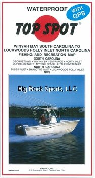 Top Spot Map N237 Winyah Bay S.C. to